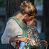 Gisele Bundchen Kisses Daughter Vivian Brady in Boston