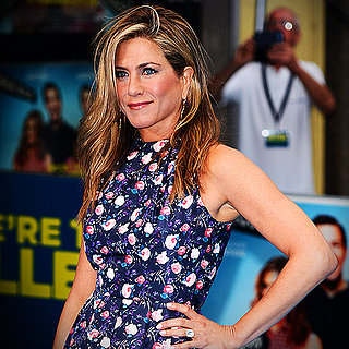 Jennifer Aniston Floral Dress For We're the Millers | Video