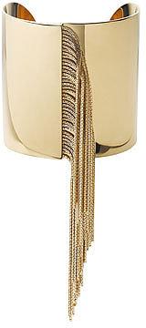 Michael Kors  Fringe Cuff Bracelet, Golden