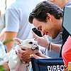 Matt Bomer With a French Bulldog