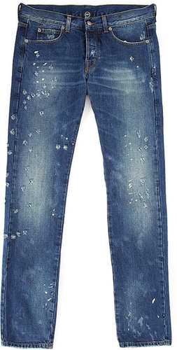Destroyed Slim Jeans by McQ Alexander McQueen
