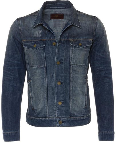 7 for all mankind Jeansjacke blau