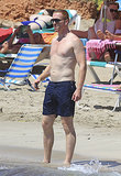 What Would Carrie Say? Damian Lewis Goes Shirtless