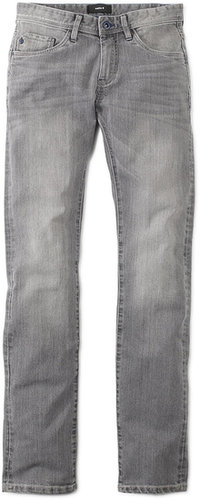 Jean slim coton stretch bleached