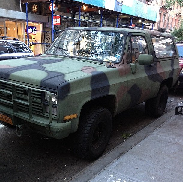 Yes, even the trucks in SoHo are on-trend.