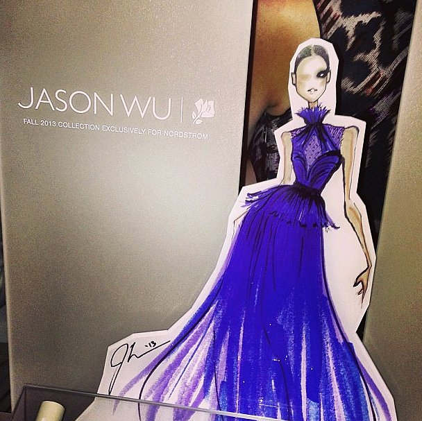 The perfect pairing: Jason Wu and Lancome.