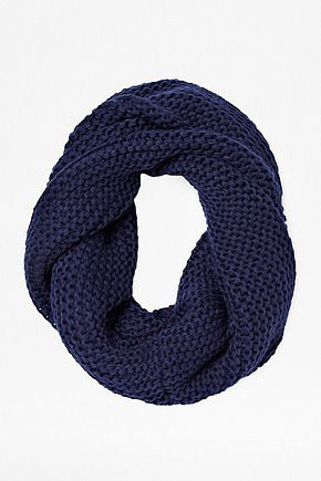 Compass Bubble Knitted Snood