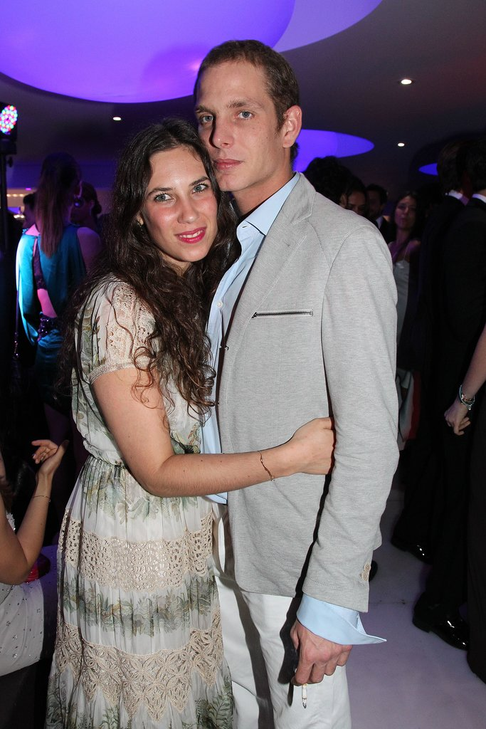 Tatiana gave her prince a hug during a Cannes Film Festival event in 2012.