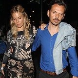 Sienna Miller and Matthew Williamson Fashion in London