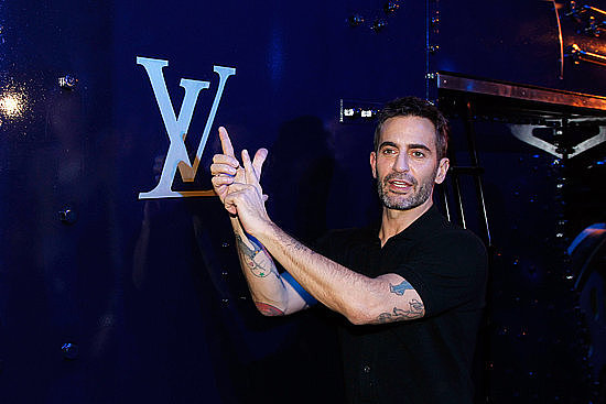 Marc Jacobs is giving you a road map to his tattoos.