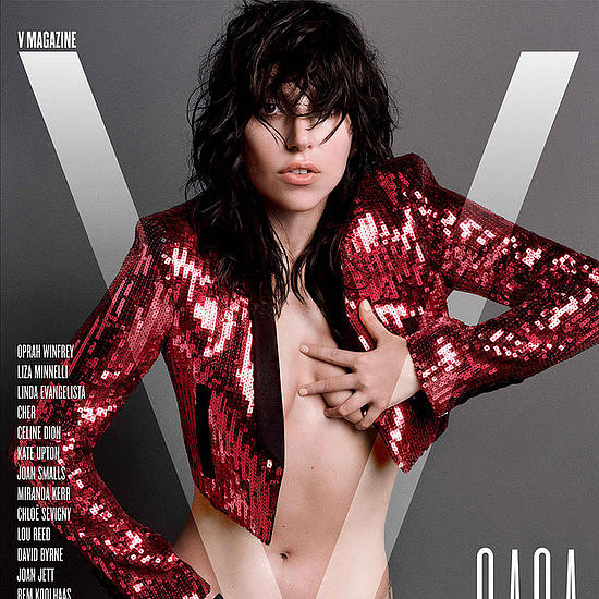 Let's have a round of applause for Lady Gaga's V magazine cover.  Photo courtesy of V magazine