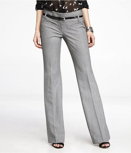 Studio Stretch Wide Waistband Flare Editor Pant