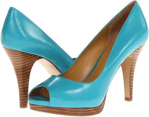 Nine West - Danee (Turquoise Leather) - Footwear