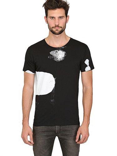 Saint Laurent - Roettinger Print Cotton Jersey T-Shirt