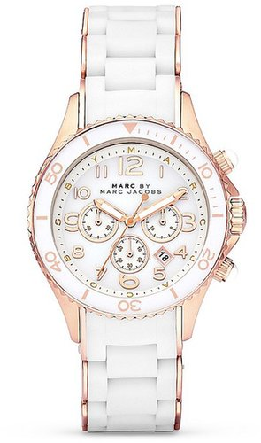 MARC BY MARC JACOBS Rock with Rose Gold Accents Watch, 40mm