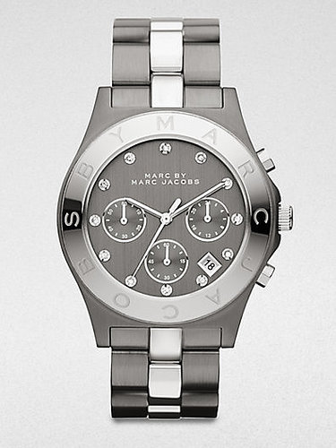 Marc by Marc Jacobs Two-Tone Stainless Steel Chronograph Watch/Gunmetal