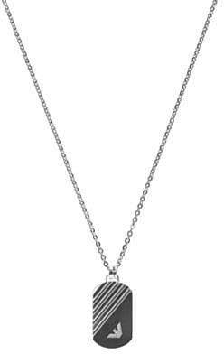 Emporio Armani dog tag necklace