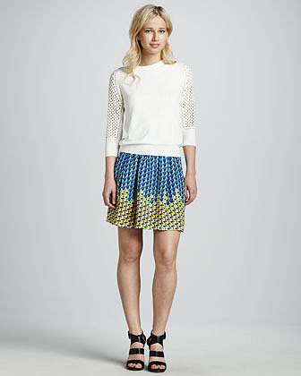 MARC by Marc Jacobs Paradox Printed Skirt