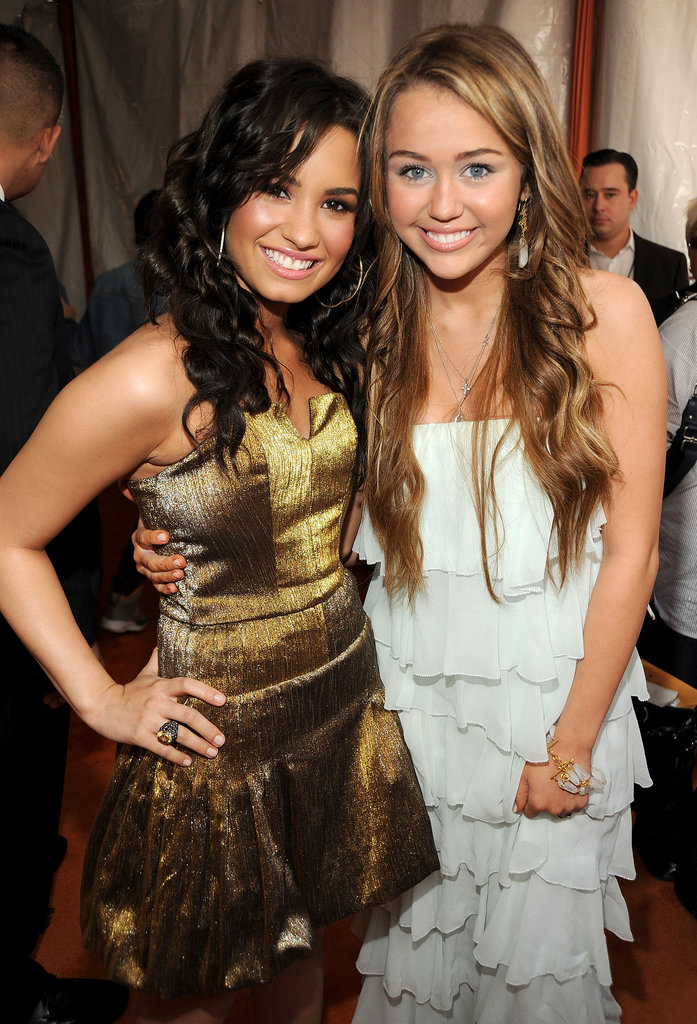 Miley Cyrus and Demi Lovato