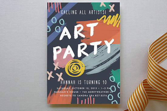 Art Party Cards