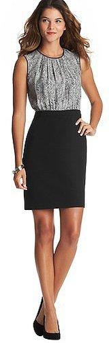 Pixel Print Skirt Dress