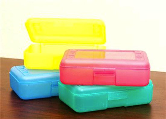 Translucent Pencil Box