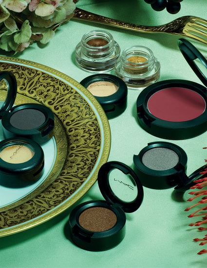 To celebrate the season of luxury, MAC recently released its Indulge collection ($15-$24). Chock-full of eye pigments, lip glosses, and nail lacquers, this collection regales us with the finer things in life.