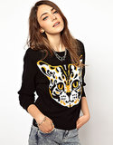 Not catty, just cute — we adore the spots on this Monki Cat Sweater ($42).