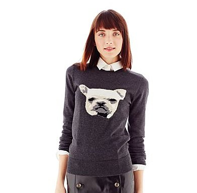 How can you say no to this face? Get your own Joe Fresh Pug Sweater ($39) for the cutest kind of Fall outfits.