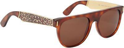 Super Sunglasses Leopard Flat Top