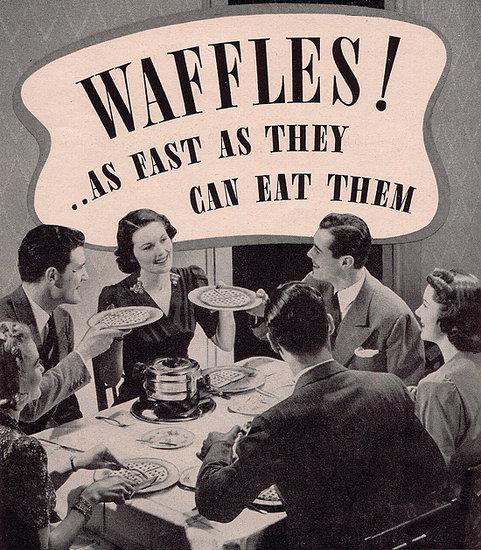 Break Out the Syrup and Revisit These Awesomely Nostalgic Waffle Ads