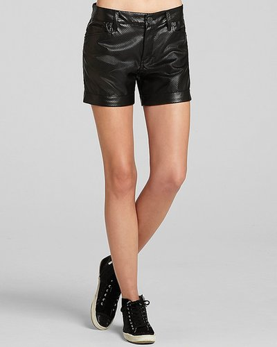 BCBGeneration Shorts - Perforated Faux Leather