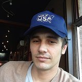 """James Franco snapped a selfie while wearing a """"Made in USA"""" cap. Source: Instagram user jamesfrancotv"""