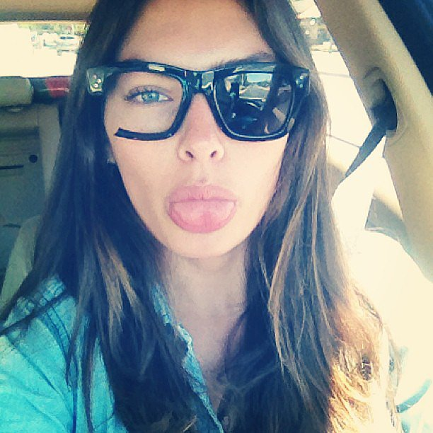 Alyssa Miller started a new accessory trend when she accidentally left her shades on the roof of a car. Source: Instagram user luvalyssamiller