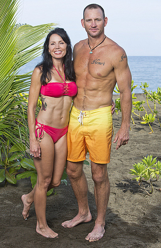 Monica and Brad Culpepper  Ages: 42 and 44 Relationship: Married Hometown: Tampa, FL Occupations: Homemaker and attorney/retired NFL player Alumni cred: Monica was on Survivor: One World