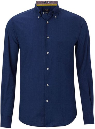 Men's Paul & Shark Long sleeved denim shirt