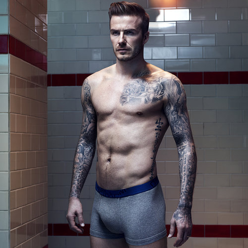Pictures Of David Beckham Shirtless In Underwear For H&M