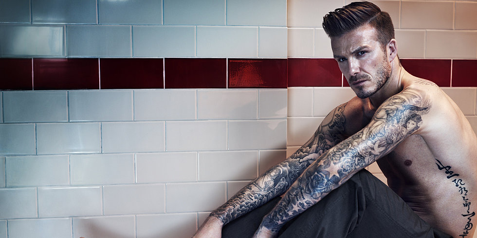 Here's David Beckham's Full Fall Underwear Campaign For H&M