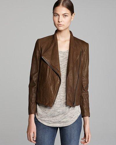 HELMUT Helmut Lang Leather Jacket - Washed Moto