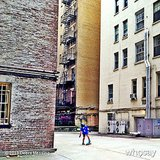 Roman Zelman practiced his skateboarding skills behind his building in NYC. Source: Instagram user therealdebramessing