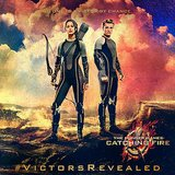 Katniss and Peeta strike a pose.