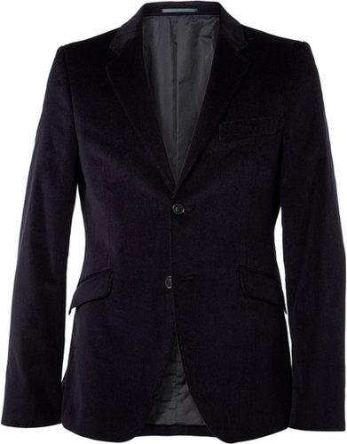 Acne Wall Street Slim-Fit Corduroy Suit Jacket