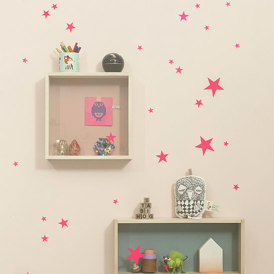 Give her the sweetest dreams with Ferm Living's Mini Stars Wallstickers ($17). The set comes with 49 star stickers, so you can create the constellations of your choice.