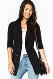 We love the longer silhouette on this Nasty Gal blazer ($88).