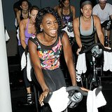 While everyone else was hitting up SoulCycle, Venus Williams caused a spin over at Flywheel! Source: Instagram user venuswilliams