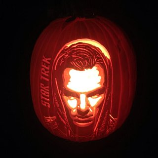 Benedict Cumberbatch Pumpkin Carving