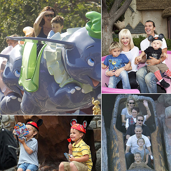 Celebrity Families Flock to Disney Parks!
