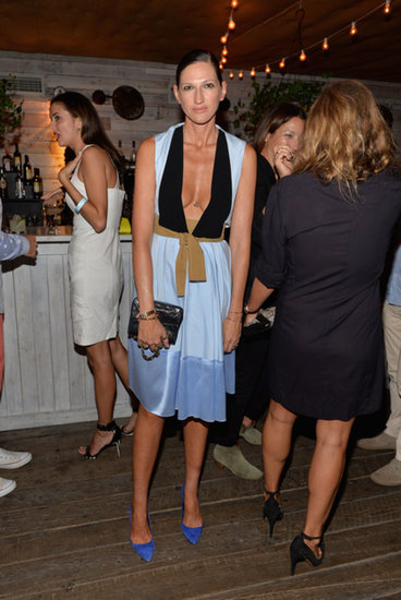 Jenna Lyons wasn't afraid to show some skin at the Soho House 10th anniversary party in New York City.