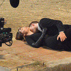 Robert Pattinson on LA Set of Maps to the Stars