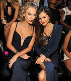 Taylor Swift sat next to Selena Gomez at the VMAs.